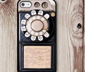 iPhone Case Old Phone, iPhone 5, Iphone 5S, Hard Case